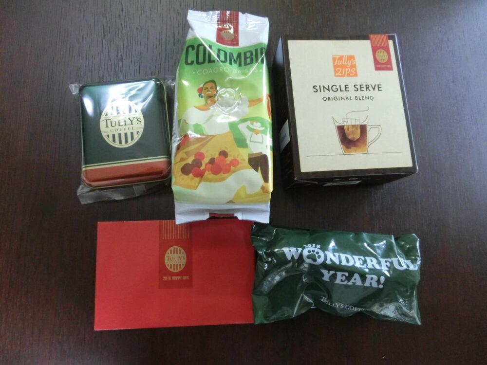 タリーズコーヒー 福袋 2018