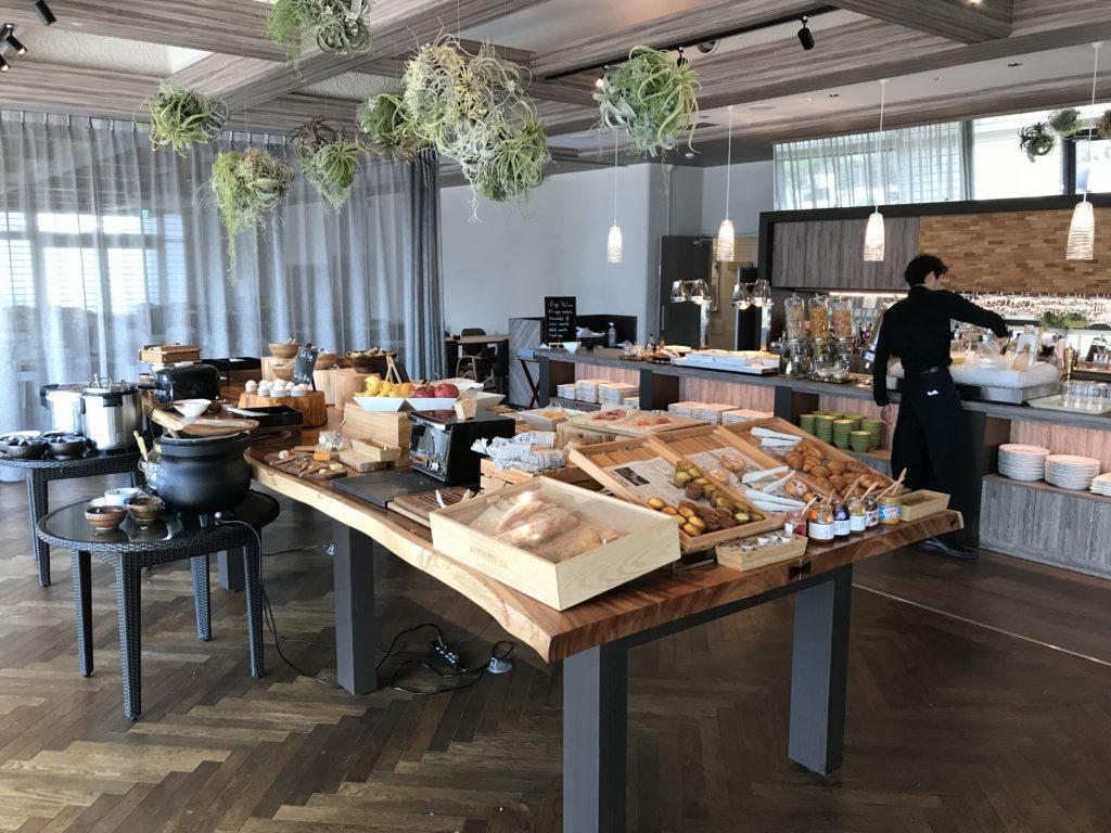 マリオット修善寺 レストラン 朝食