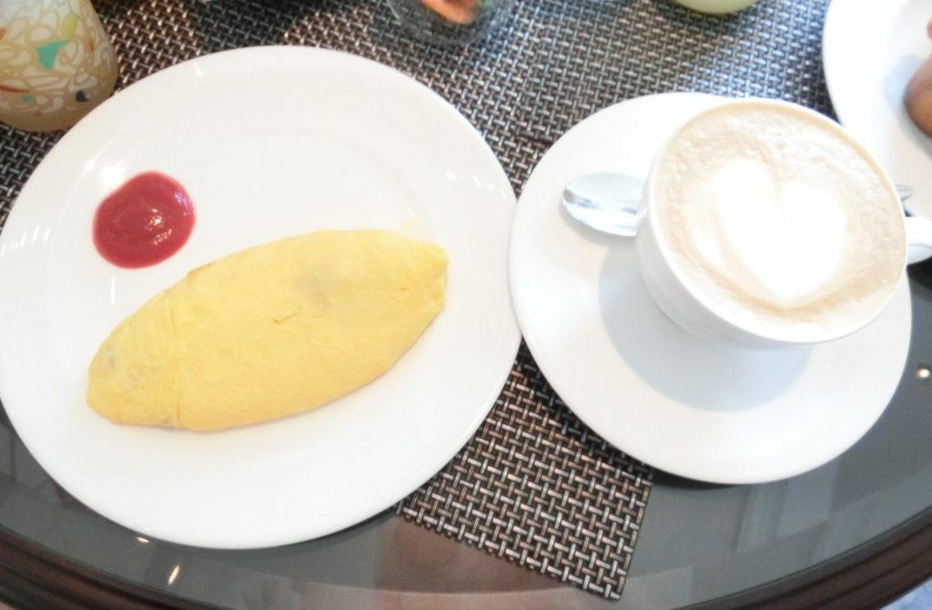 リッツカールトン大阪クラブラウンジ朝食