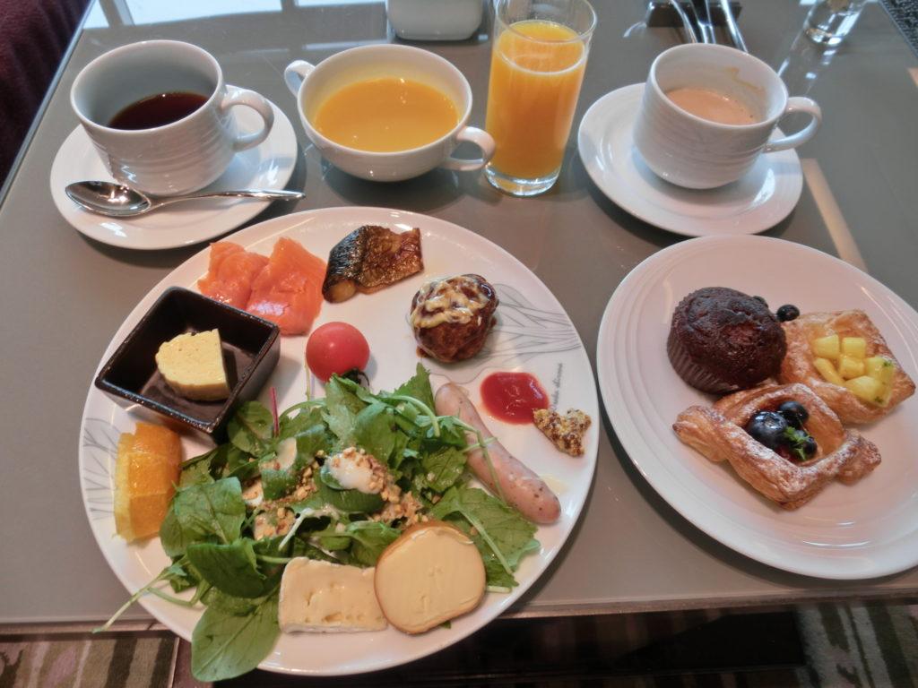 マリオット都ホテル大阪 朝食