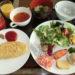 日本平ホテル ザ・テラスでの朝食・ディナー編